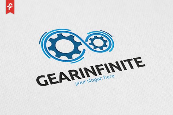 Gear Infinite Logo Infinite Logo Bike Logos Design Logos