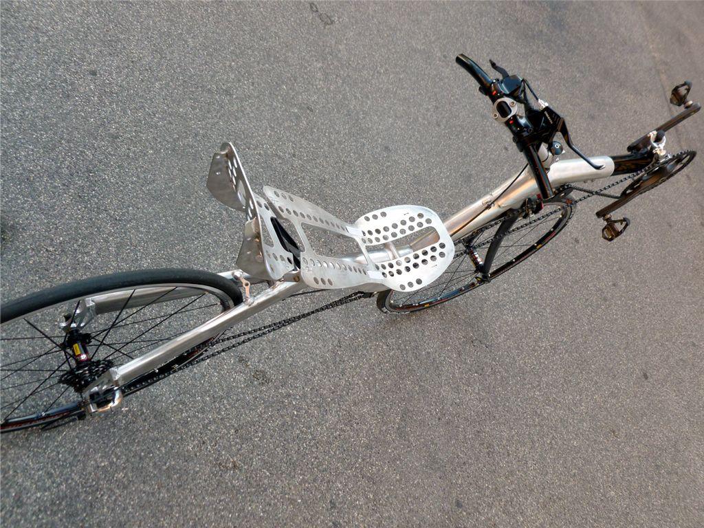 recumbent bicycle Slyway endorphin 700 (first prototype)