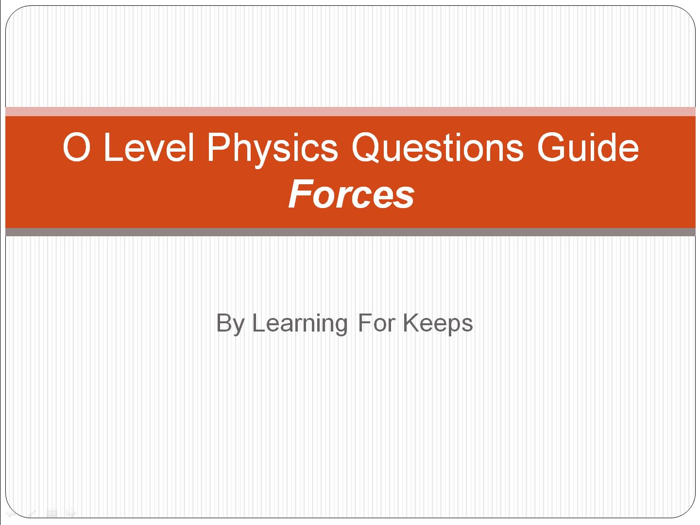 Question Guide Forces