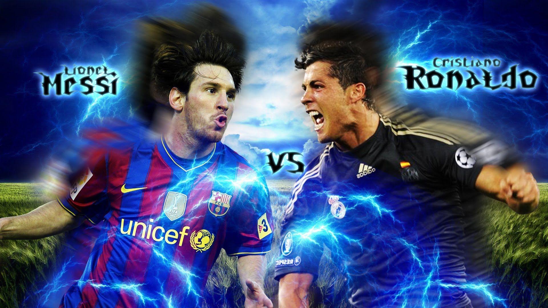 Ronaldo Vs Messi Wallpaper Full Hd 8jn In 2019 Messi Vs