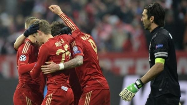 David Alaba And Thomas Mueller Were The Scorers For Bayern Munich As The Germans Sealed A Convincing Victory Over Juventu Champions League Bayern Munich Bayern