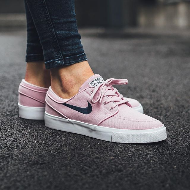 just in nike sb zoom stefan janoski canvas prism pink. Black Bedroom Furniture Sets. Home Design Ideas