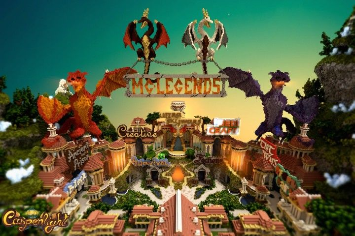 MC - Legends Hub [Feat. BillTheBuild3r and MrFluffyCakes] Minecraft Project