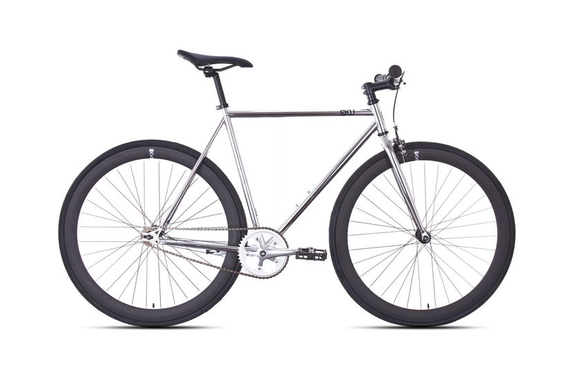 6ku Fixie Single- Speed Bike Detroit Chrome Item # 10TR-KU1131 ...