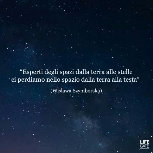 Expert of the space from hearth to stars, we lose ourselves in the space between the hearth and our head