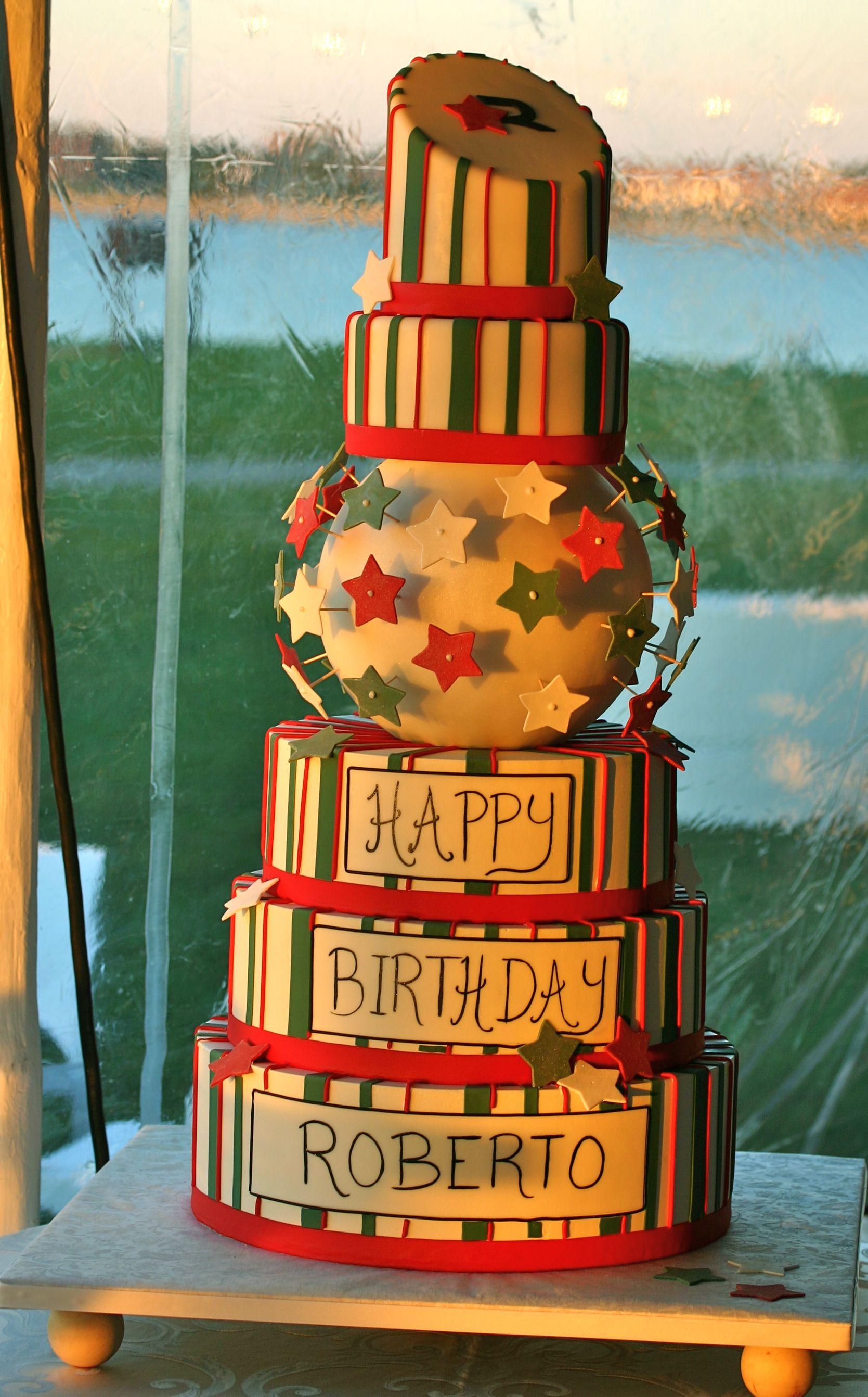 Birthday cake italian style creative baking no