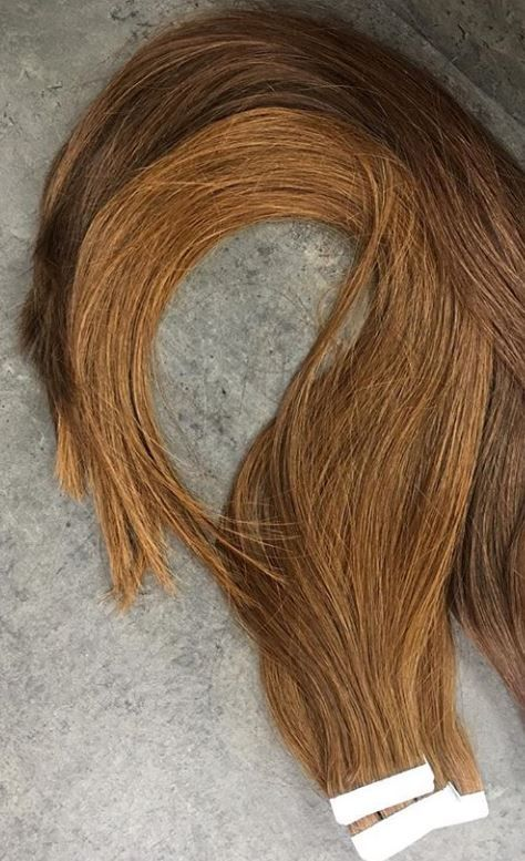 Zero Damage Tape In Hair Extensions Using Sdx Hair Ombr Tape