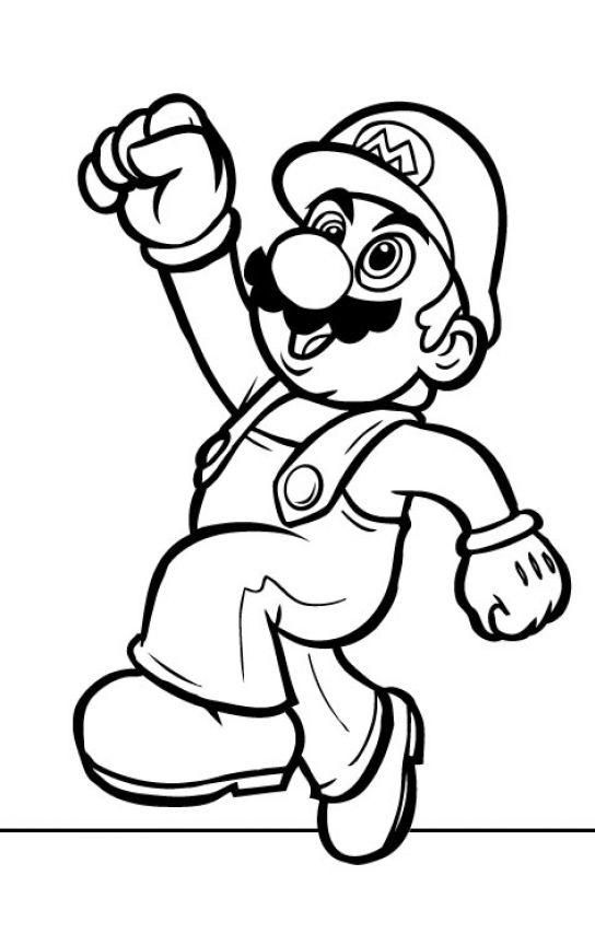Top 20 Free Printable Super Mario Coloring Pages Online ...