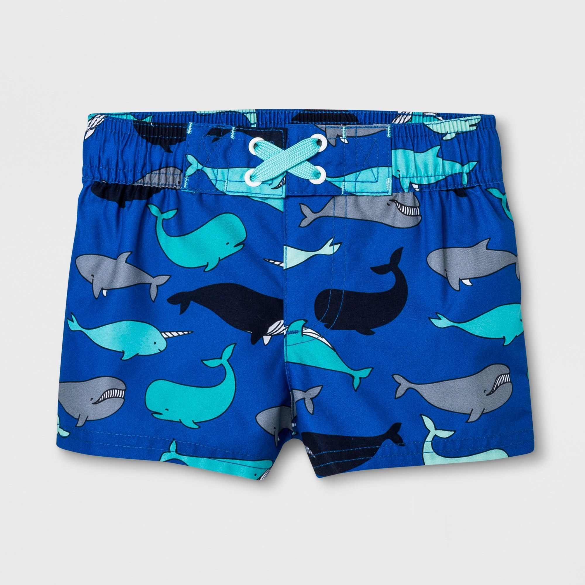 c2604d2faf9dc Baby Boys' Whale Swim Trunks - Cat & Jack Blue 3-6M | Products ...