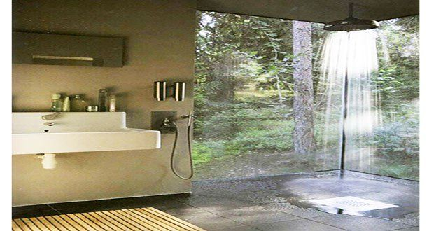 Meuble salle de bain douche italienne béton ciré Pinterest - Salle De Bain Moderne Douche Italienne