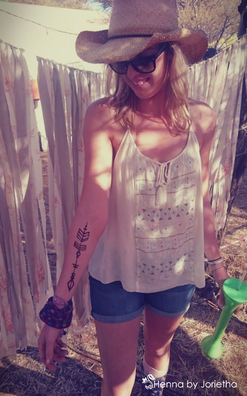 Henna Tattoo In Johannesburg