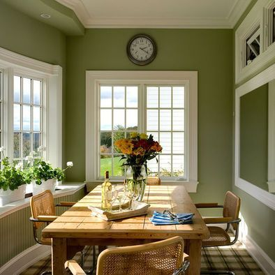 lovely colorful kitchen | Green is genuinely a lovely color for your kitchens. It is ...