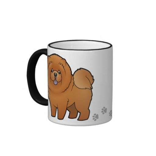 Cartoon Chow Chow Mug Zazzle Com Mugs Cute Mugs Funny Mugs