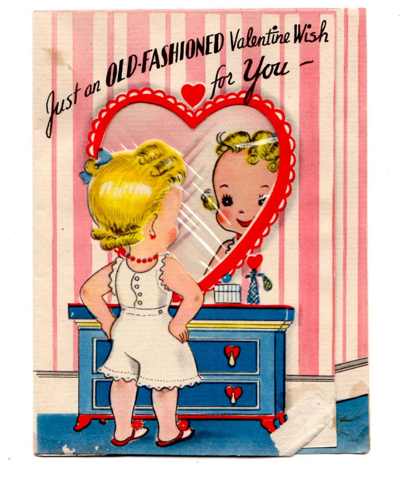 adventures in accumulation Valentine OldFashioned – Old Valentines Day Cards