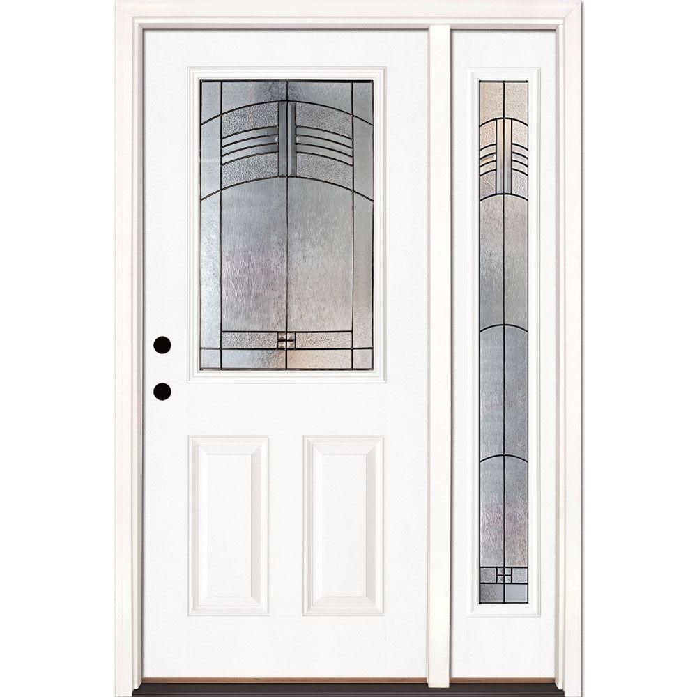 Feather River Doors 50 5 In X 81 625 In Rochester Patina 1 2