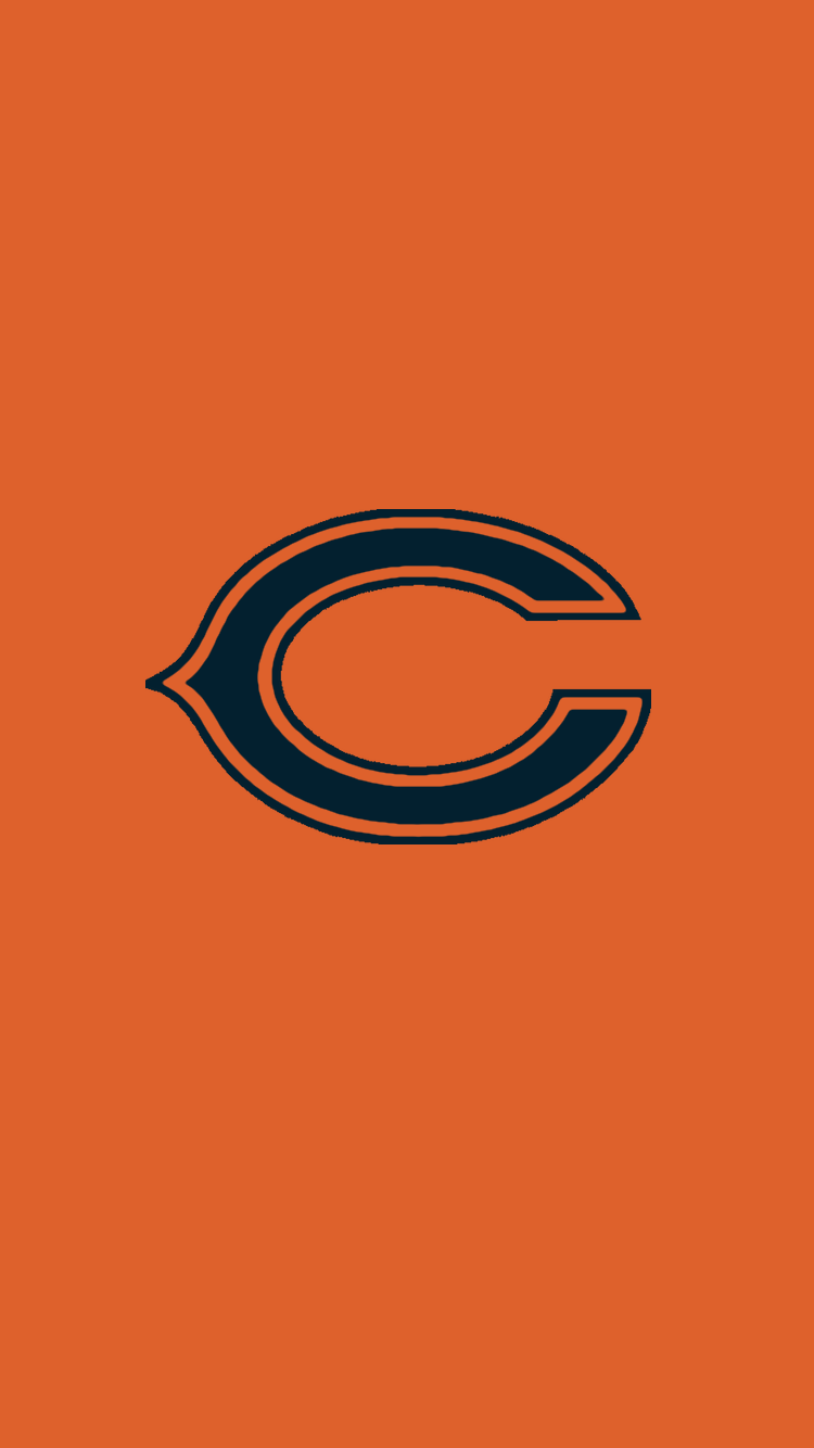 Minimalistic Nfl Backgrounds Nfc North Chicago Bears Chicago Bears Pictures Chicago Bears Logo