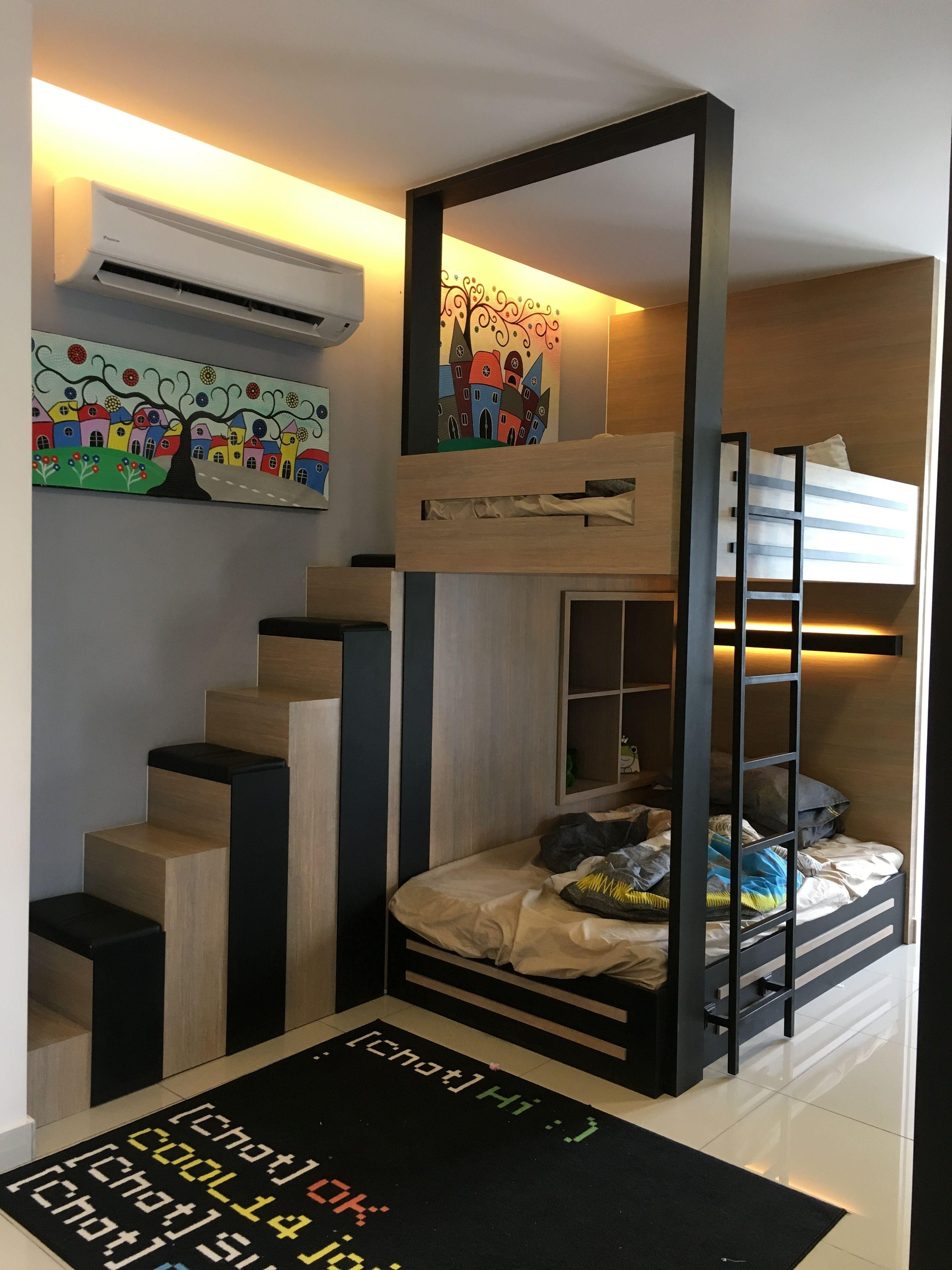 Double Decker Bed  Hostels design, Bedroom design, Bed
