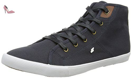Spencer ICN Lea NVY, Sneakers Basses Homme - Bleu - Bleu (Bleu Marine), 39 EU (5.5 UK)Boxfresh