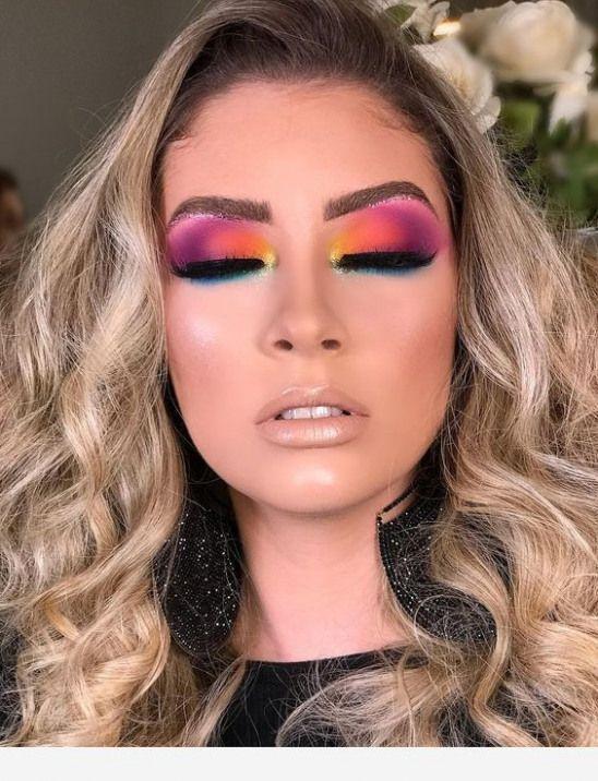 Amazing colors for this eye makeup #EyeMakeupEveryday # ...