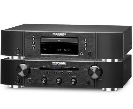 Marantz Set amplifier and CD-R - RW 5005 Black... cool.