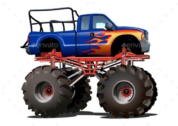 cartoon monster truck biv pinterest cartoon monsters monster