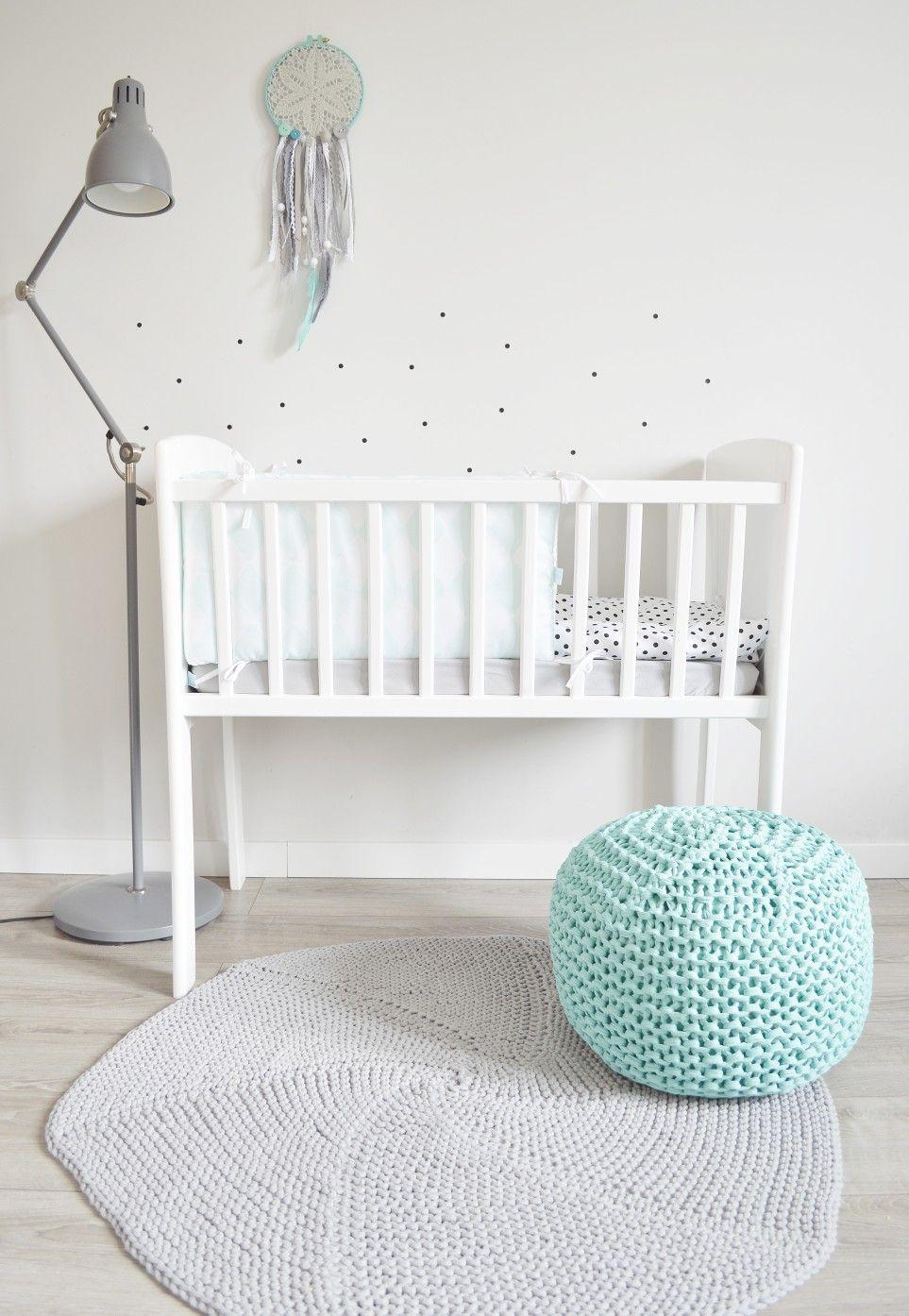 Kołyska łóżeczko Classic Crib Białe Drewniane Mini