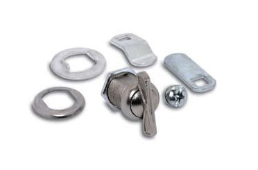 3 Popular Sized Thumb Turn Locks In Bright Nickel Finish Conveniently Packaged With The Necessary Parts To Perform All Locking Functi Mailbox Lock Locks Filing Cabinet