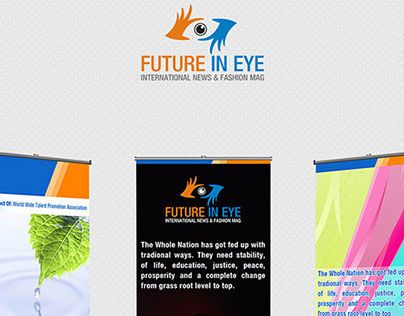 """Check out new work on my @Behance portfolio: """"Future In Eye Standees Designs"""" http://on.be.net/1HF9a75"""