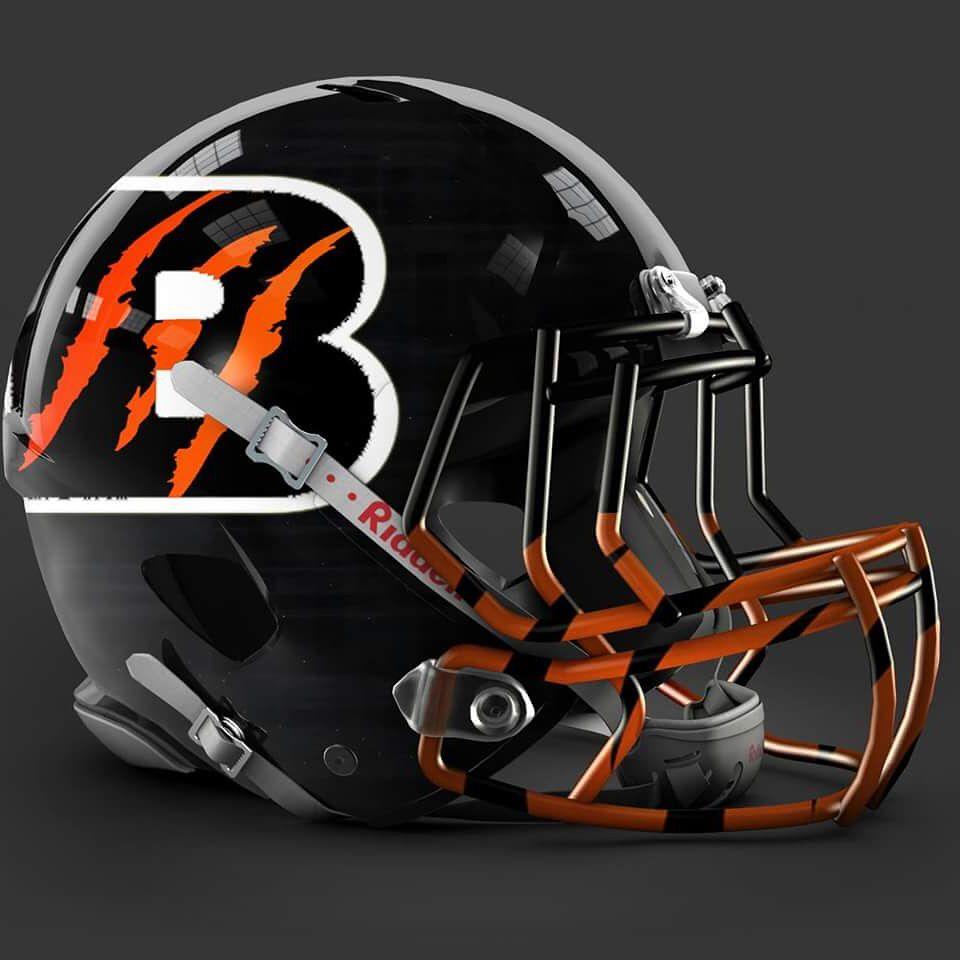 Cincinnati Bengals alt helmet design | Cincinnati | Pinterest ...