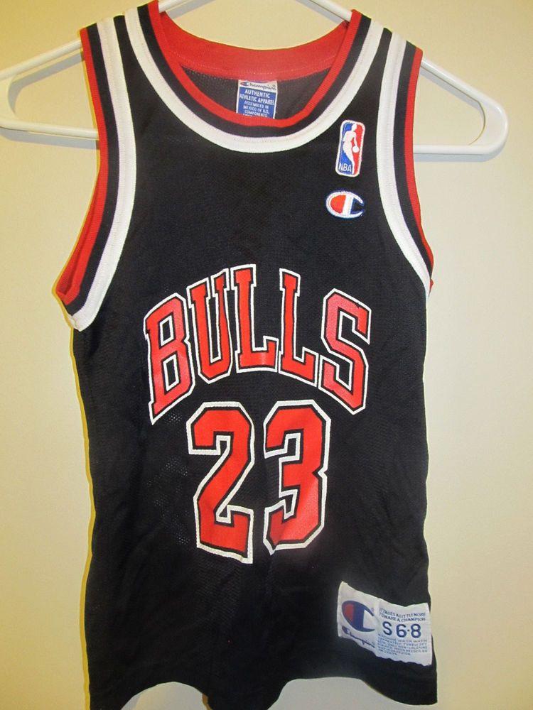 Vintage Michael Jordan - Chicago Bulls jersey - Champion Youth
