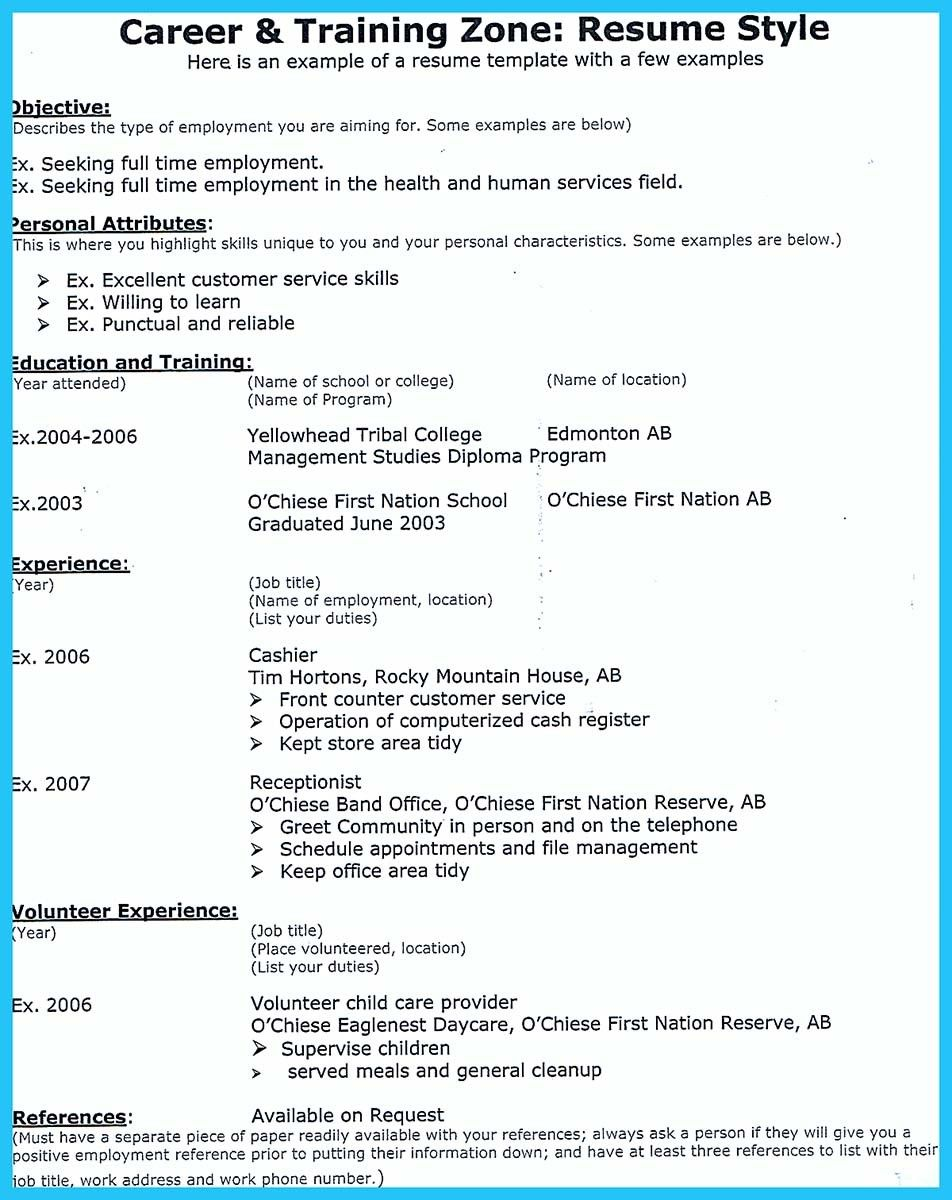 Resume Examples  What Is The Purpose Of A Resume