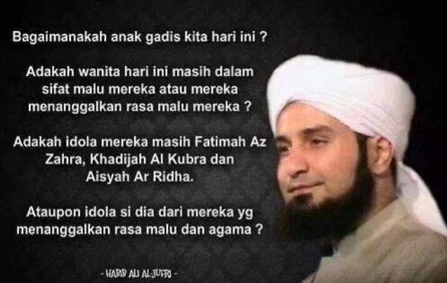 Habib Ali Al Jufri Kutipan Agama Bijak Motivasi