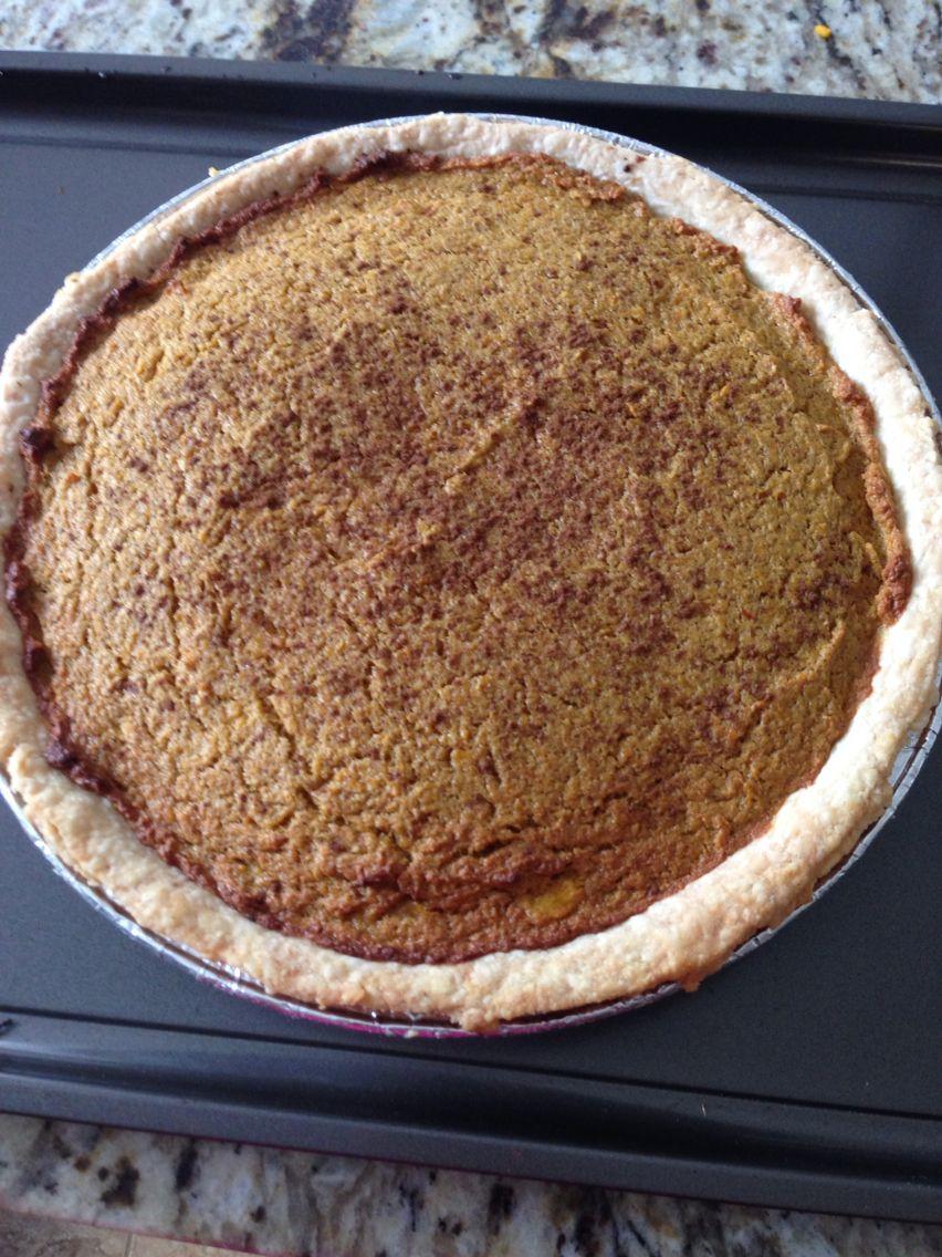 Yummy pumkin pie for Thanksgiving!!