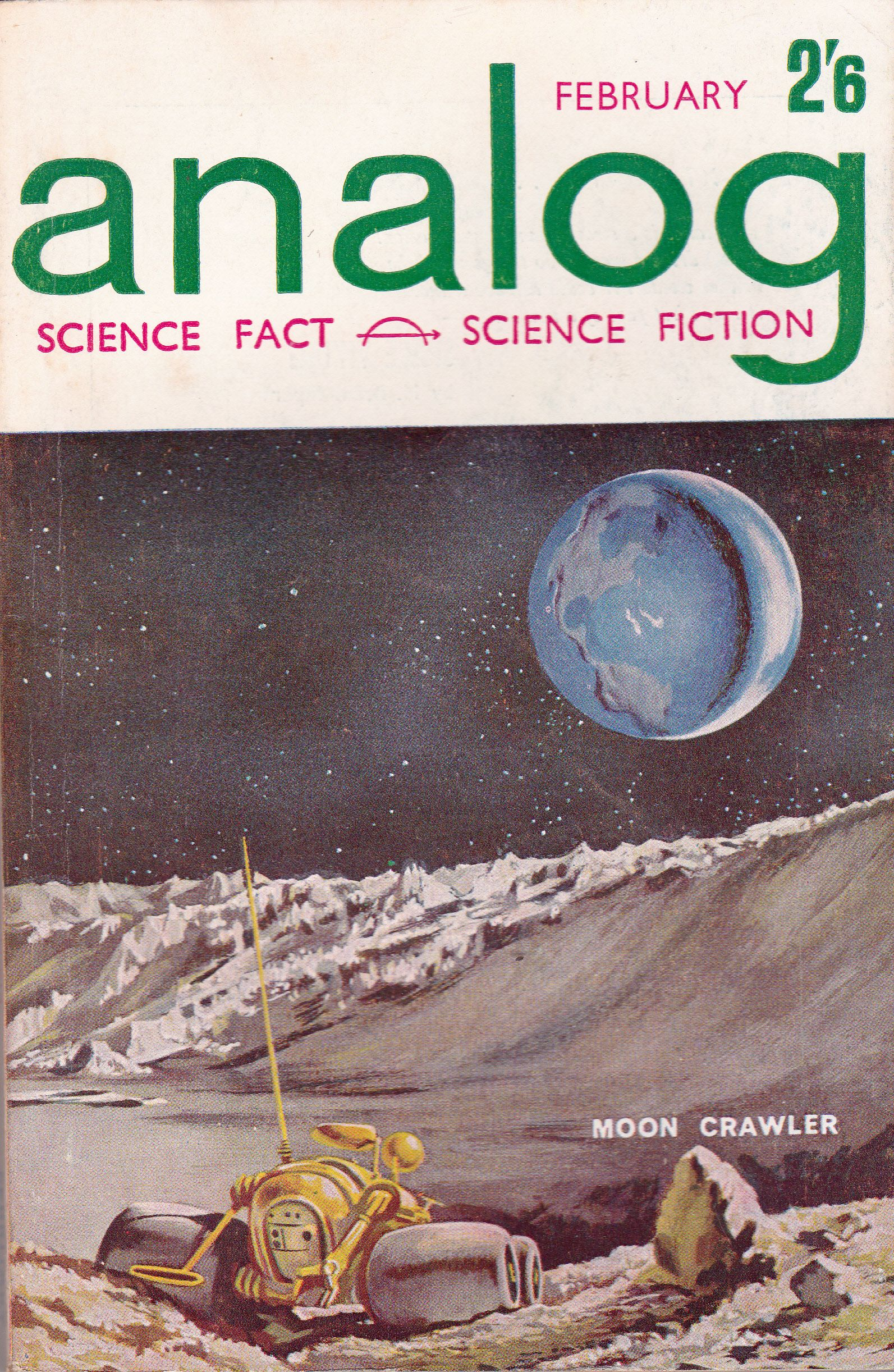 No Analog Science Fact-Science Fiction  Vol 75 1 March 1965 Poster Dune 18x24