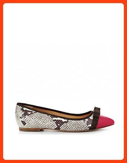 online retailer 1eda1 135d2 ShoeVita handgefertigte Damen Leder Ballerina Spitz Python ...