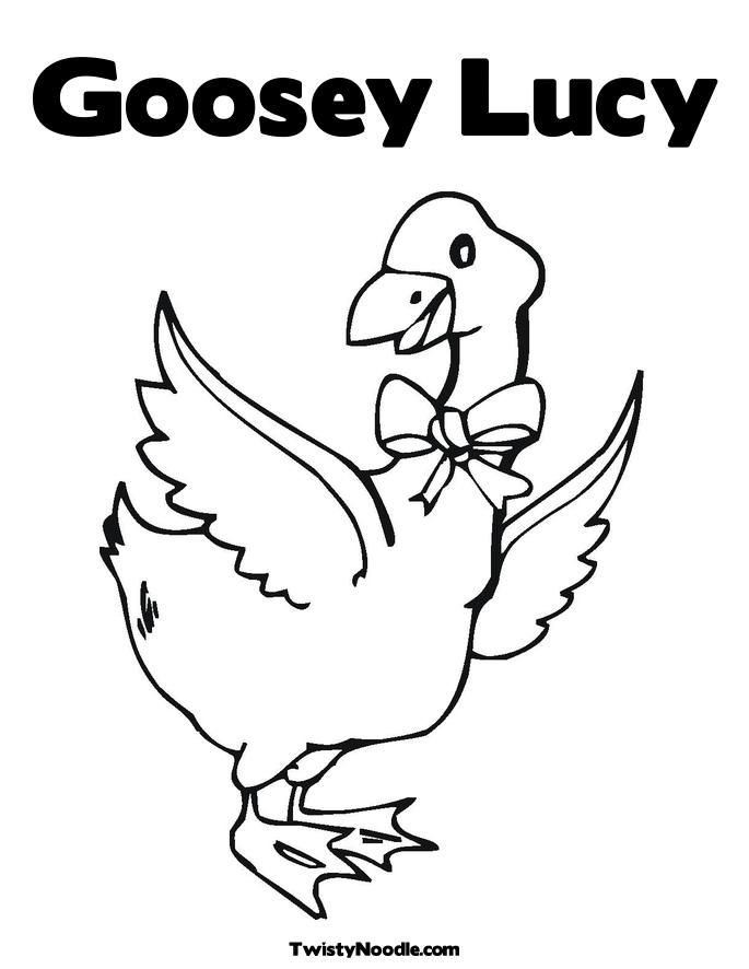 Printable Henny Penny Coloring Character Pages With Images
