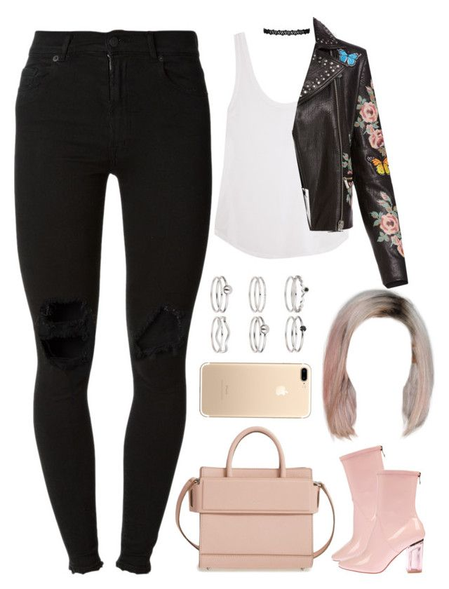 """""""26.02.17"""" by jamilah-rochon ❤ liked on Polyvore featuring Frame, Bagatelle, (+) PEOPLE, Givenchy and Miss Selfridge"""