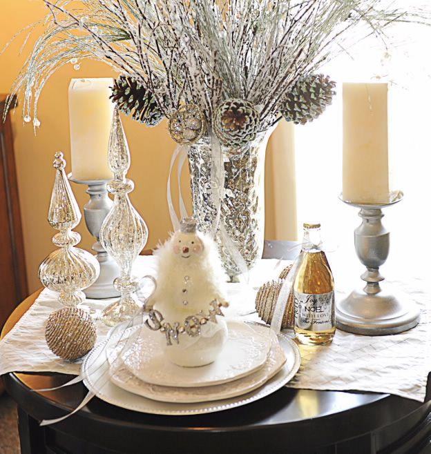 Studio 5 Holiday Table Designs Wedding Winter