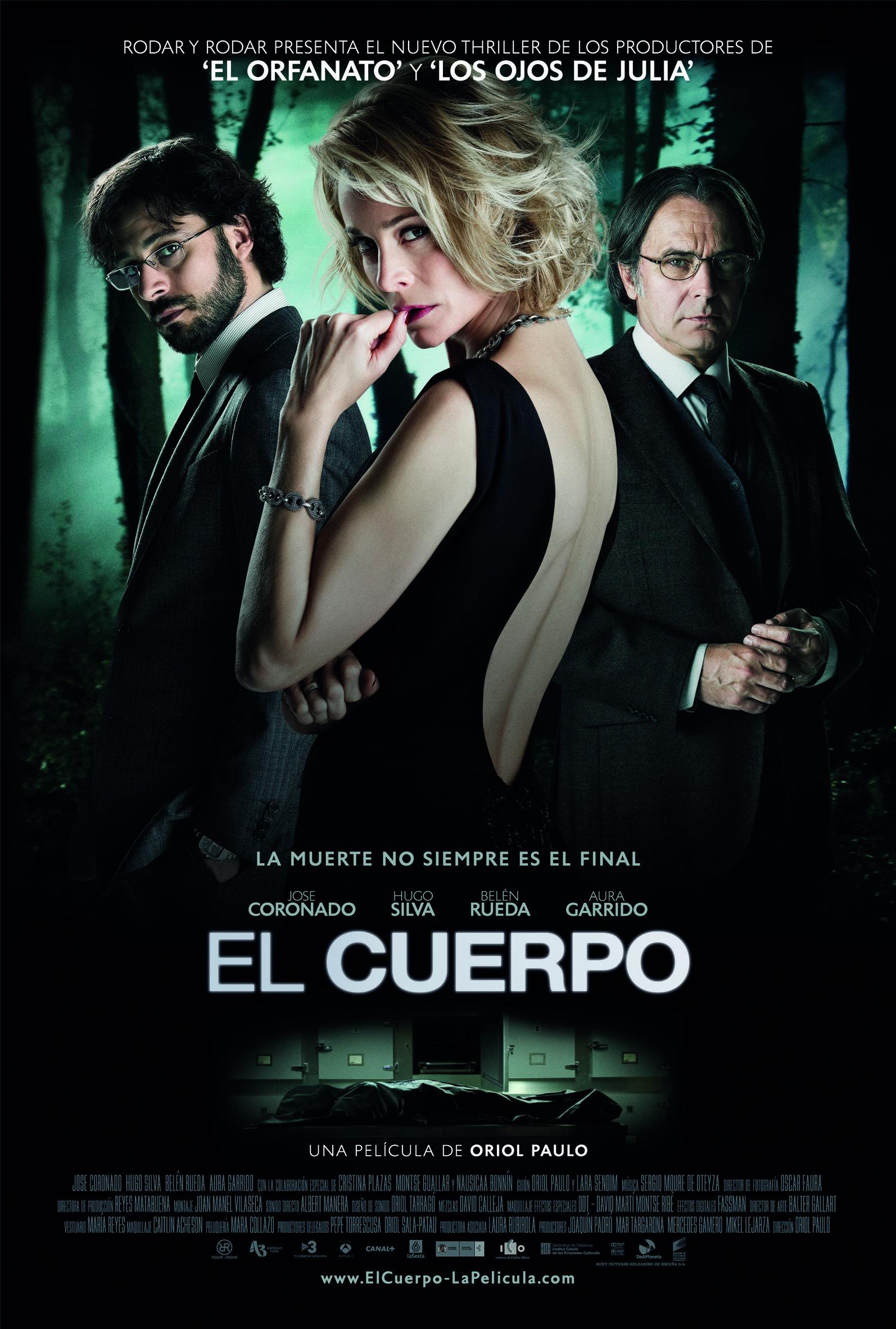 The Body El Cuerpo Body Movie Thriller Movies Spanish Movies