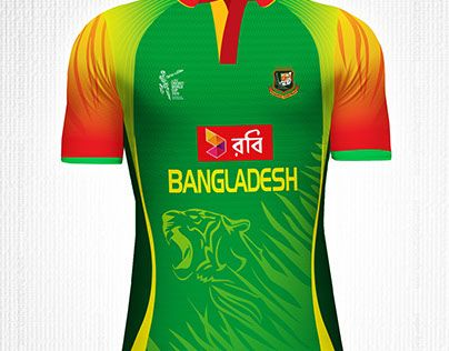 Check Out New Work On My Behance Portfolio Jersey Design For Bangladesh Cricket Team Http On Be Net 1 Bangladesh Cricket Team Jersey Design Cricket Teams