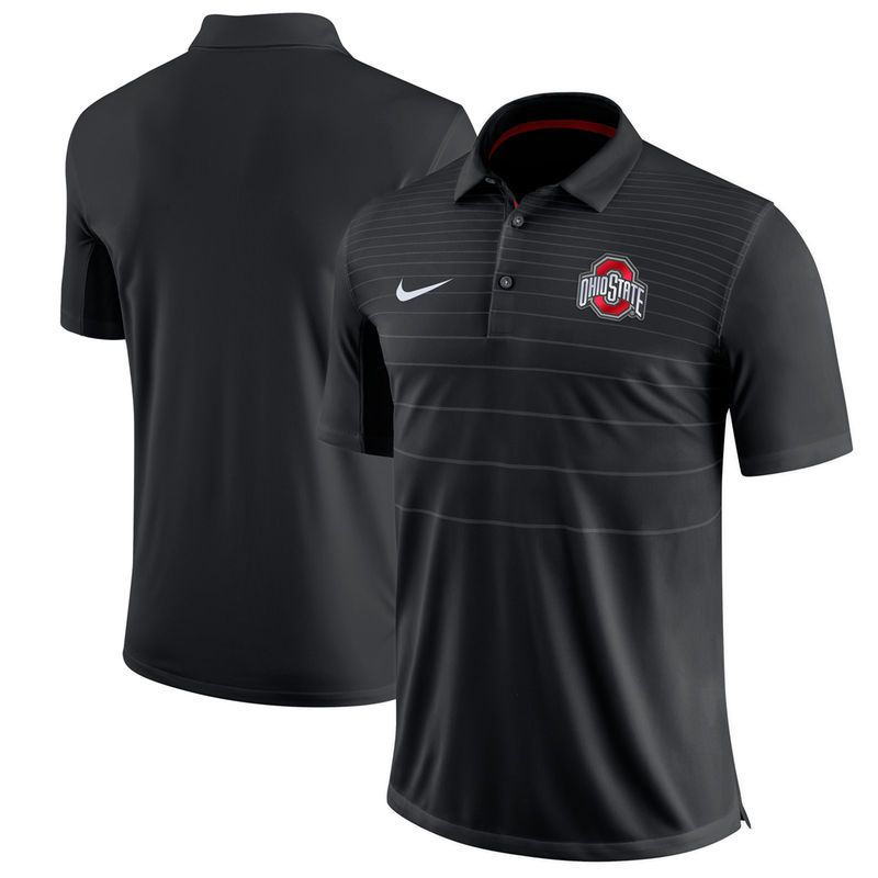 Ohio State Buckeyes Nike 2017 Early Season Polo - Black