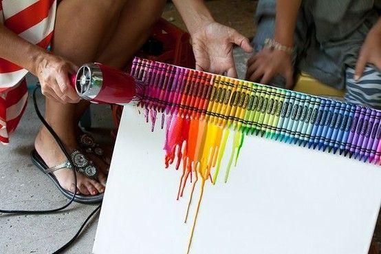 Crayon Crafts! Crafty Home Decor Ideas By Concepcion