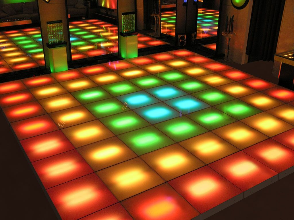 led dance floor Shown above is our 16 ft x 16 ft LED