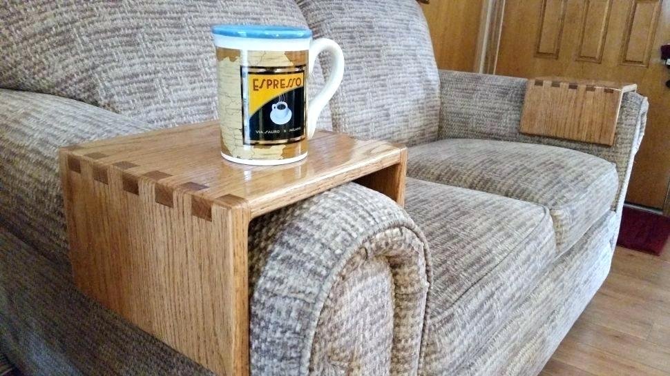 Amazing Couch Cup Holder Armrest 34 For Sofa Table Ideas With