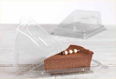 Standard Cake Slice Containers Cake Slice Cake Packaging Sweet Cakes