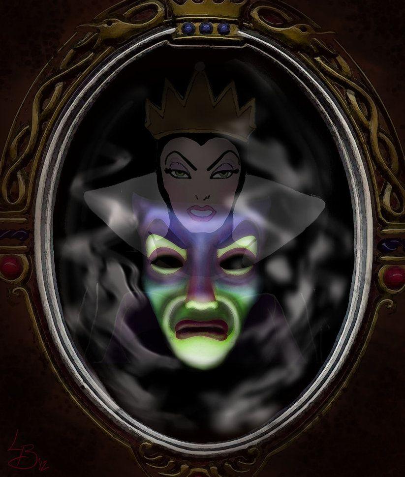 Magic Mirror Snow White Magic Mirror Snow White Evil Queen Dark Disney