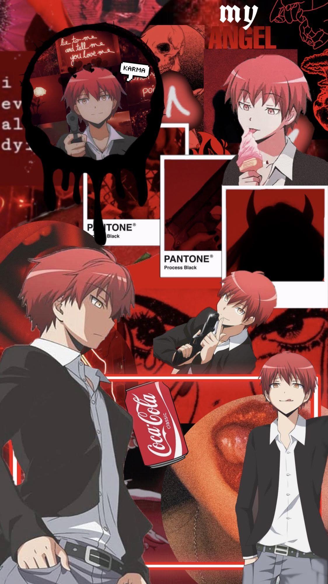 Karma Akabane Wallpaper Anime Anime Wallpaper Karma Akabane