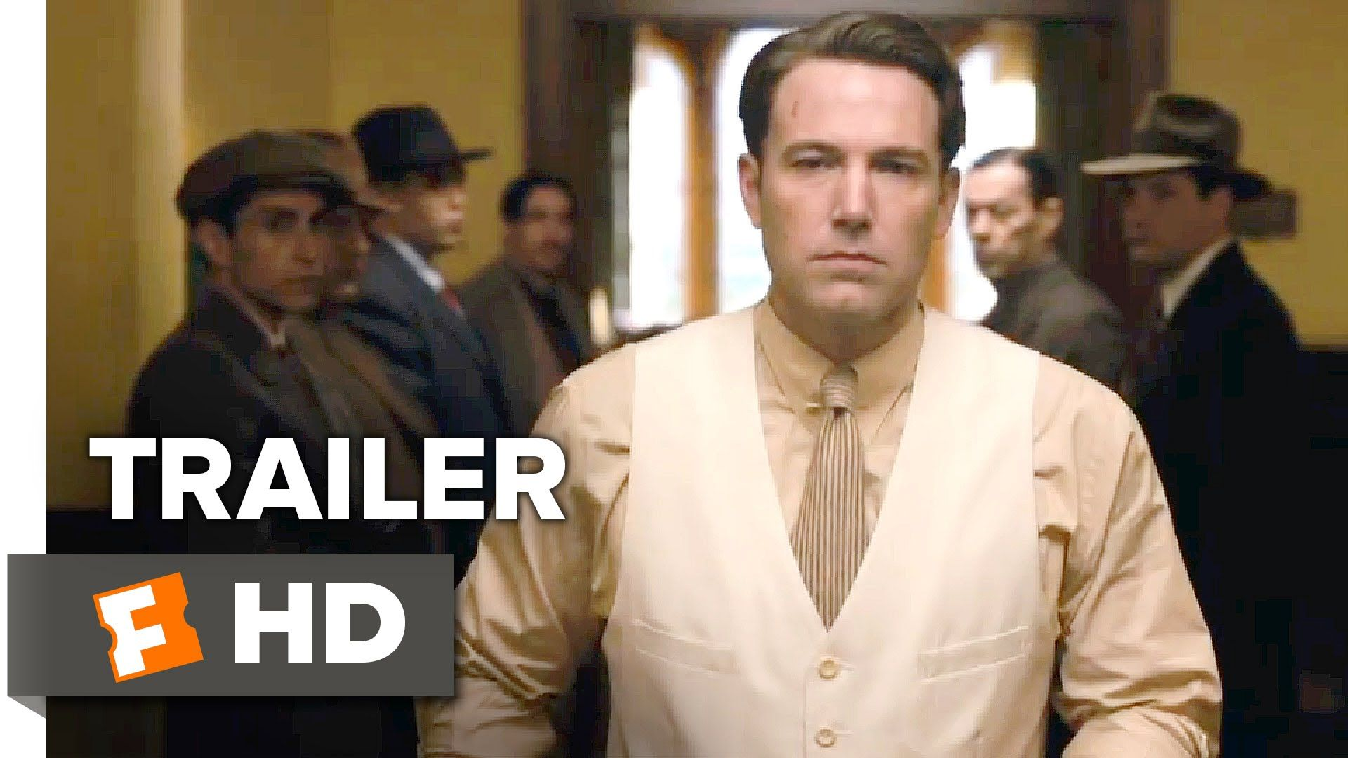 Live By Night Official Trailer 1 2016 Ben Affleck Movie