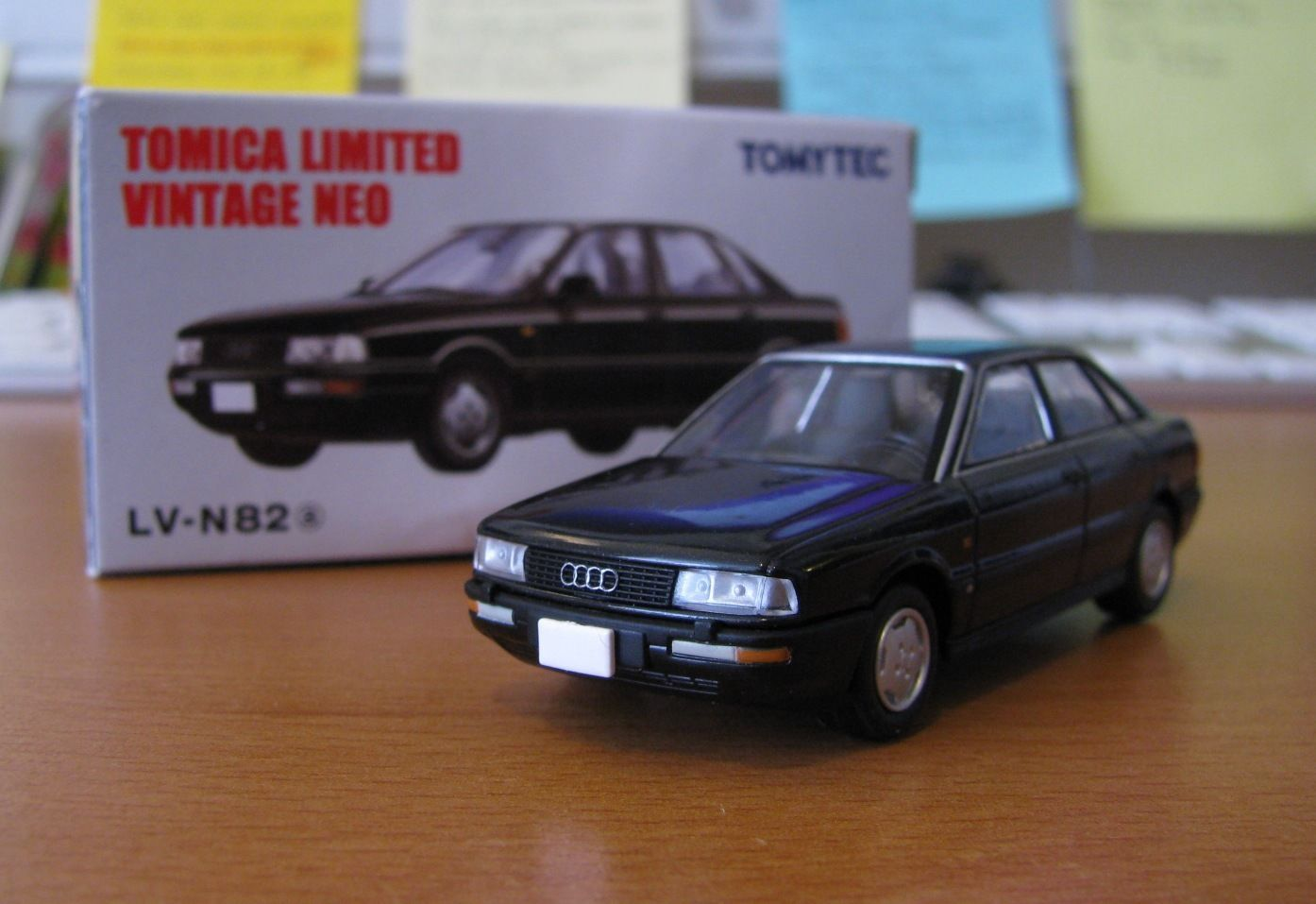 Tomica Limited Vintage Neo 1/64 Audi 90 2.3E (LV-N82 Black color) | eBay