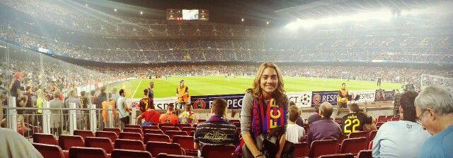 Mi lugar favorito CAMP NOU #Barça #Barcelona #Futbol